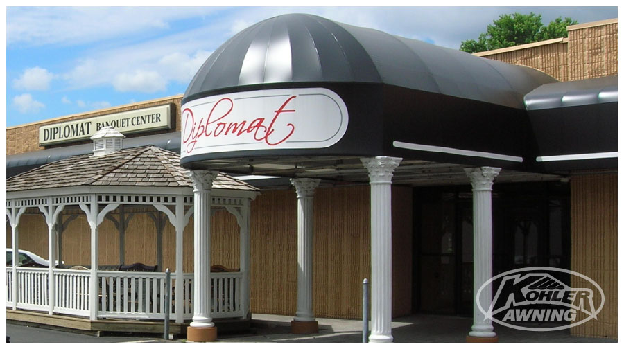 Commercial Amp Business Dome Awnings Kohler Awning