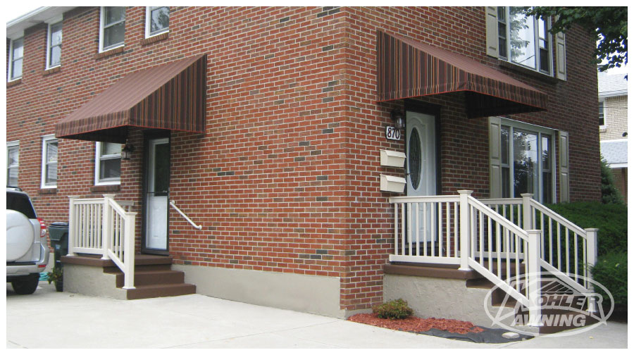 Door and Window Awnings | Kohler Awning