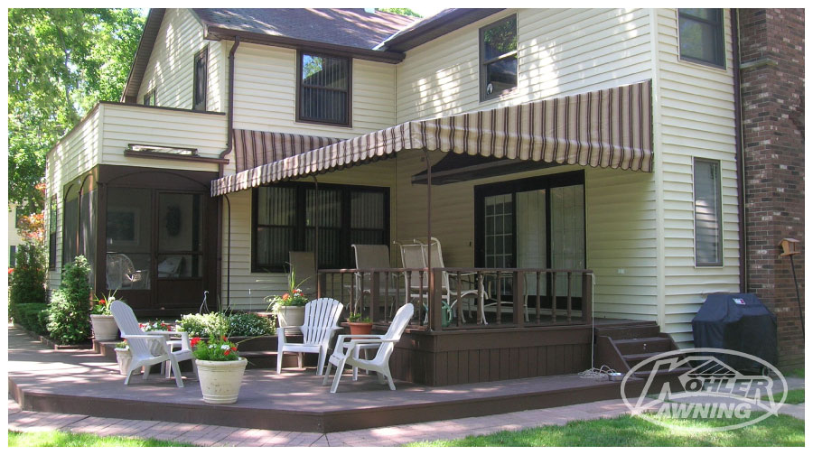 Classic Amp Traditional Style Fabric Awnings Kohler Awning