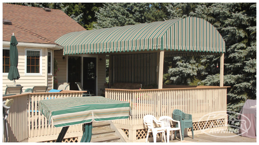A Frame And Arch Patio Awnings Kohler Awning