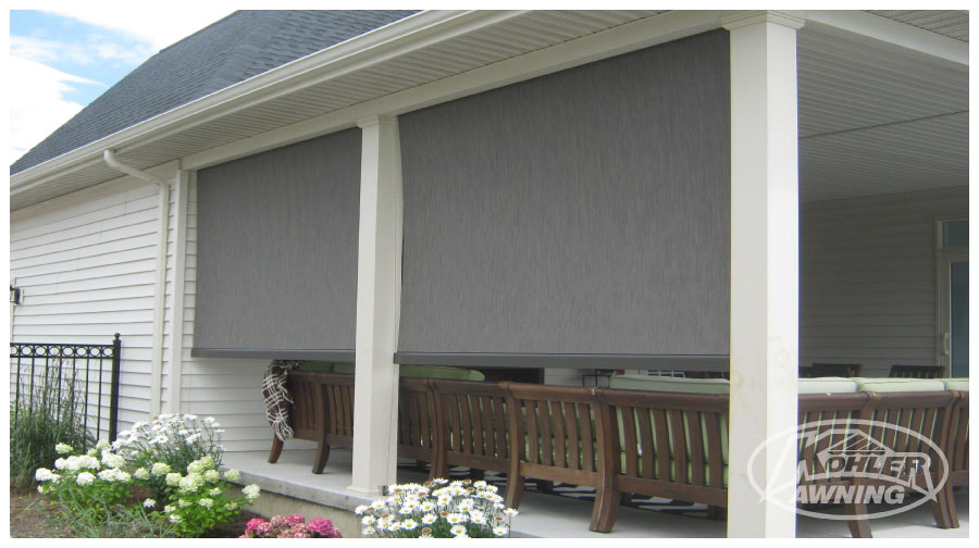 Exterior Shades Motorized Shades Kohler Awning