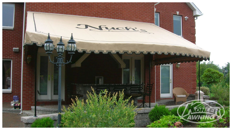 Rounded Fabric Awnings Kohler Awning