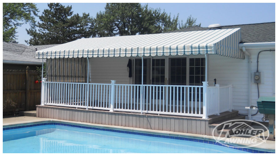 Raised Roof Fabric Awnings Kohler Awning