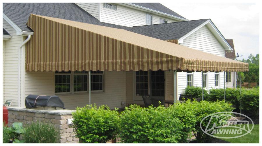 Raised Roof Fabric Awnings Kohler Awning